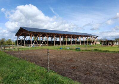 Manège couvert Poney Club – Saint Galmier (42)