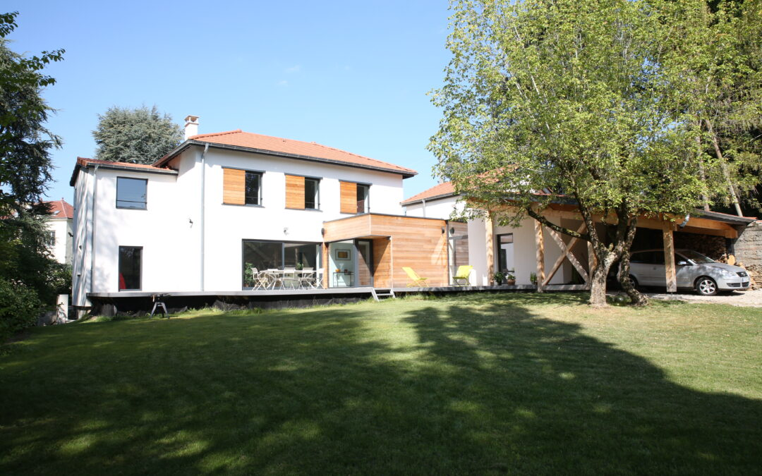 Rénovation d'une maison individuelle à l'Etrat (42)