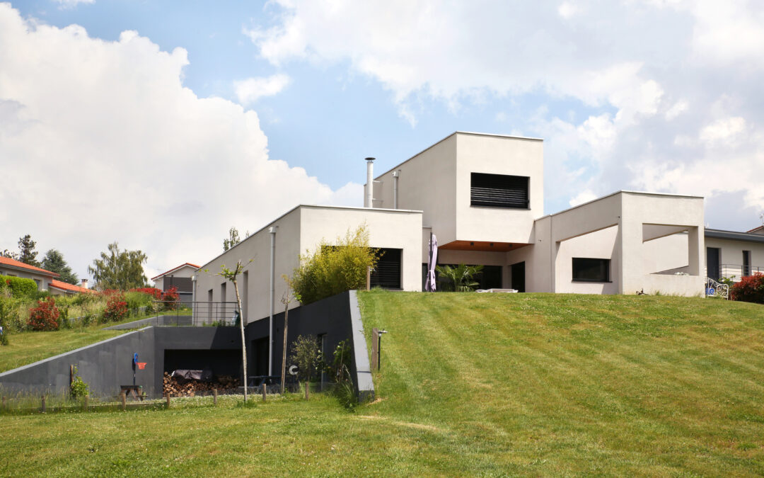 Maison contemporaine à ossature bois – Saint Victor / Loire (42)
